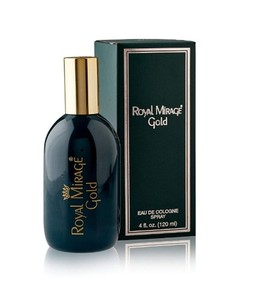 Royal Mirage Gold Eau de Cologne For Men 120ML