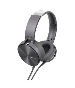 Sony Extra Bass Headphone Gray (MDR-XB950AP)