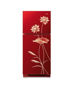 Orient Ruby 260 Freezer-on-Top Refrigerator 9 Cu Ft Blossom Red (5535-2.5)