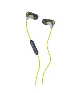 Skullcandy Riff In-Ear Earphones With Mic Hot Lime