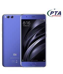 Xiaomi Mi 6 64GB 6GB RAM Dual Sim Blue - Official Warranty