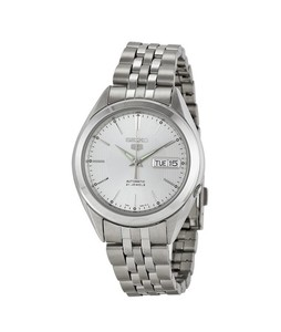 Seiko 5 Mens Watch Silver (SNKL17)