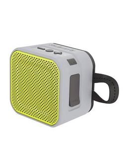 Skullcandy Barricade Portable Bluetooth Speaker Mini Grey/Lime (S7PBW-J583)