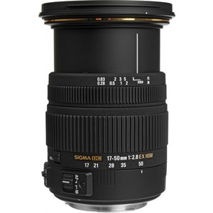 Sigma 17-50mm f/2.8 EX DC OS HSM Zoom Lens for Canon with APS-C Sensors