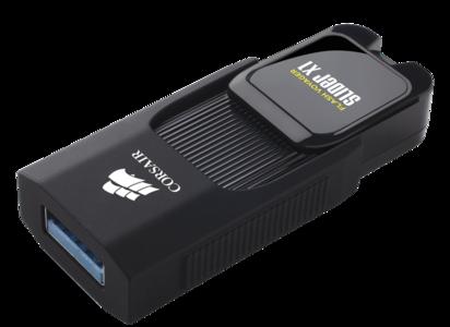Corsair Flash Voyager Slider X1 128GB USB 3.0 Flash Drive (CMFSL3X1-128GB)