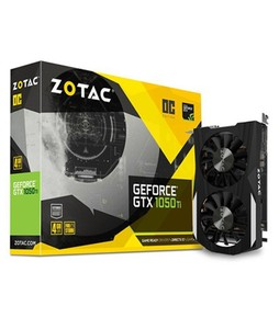 Zotac GeForce GTX 1050 Ti OC Edition 4GB Graphics Card (ZT-P10510B-10L)