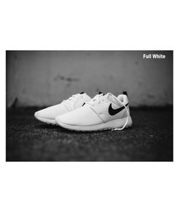 BoultonMarket Roshe Run Shoes For Men White
