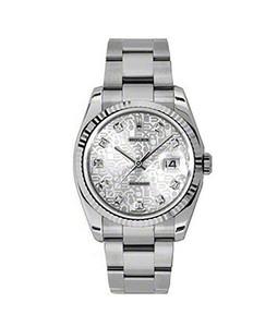 Rolex Datejust 36 Mens Watch Silver (116243-63603-32)