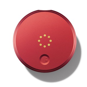August Smart Lock - Keyless Home Entry with Your Smartphone - Red