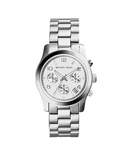 Michael Kors Runway Chronograph Women's Watch Silver (MK5076)