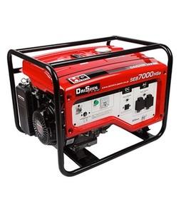 Daishin Honda 5 KVA Generator Without Battery And Wheel Kit Red (SEB-7000)