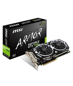 MSI GeForce GTX 1060 ARMOR 3GB OCV1 Graphics Card