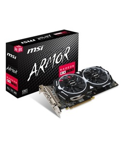 MSI Radeon RX 580 ARMOR 8GB OC Graphics Card