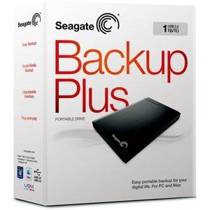 Seagate Backup Plus 1TB External Portable Hard Drive (STBU1000200)