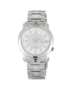 Seiko 5 Mens Watch Silver (SNKL89)