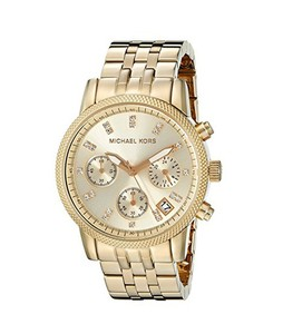 Michael Kors Ritz Womens Watch Gold (MK5676)