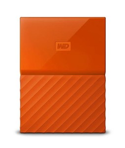 WD My Passport 1TB Portable External Hard Drive Orange (WDBYNN0010BOR)