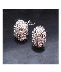 ZardiPK Diamante Glowing Earrings For Women Gold (AE43)