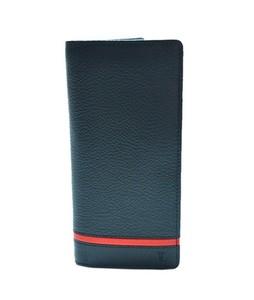 Julke Spazz Leather Wallet For Men Red - Long