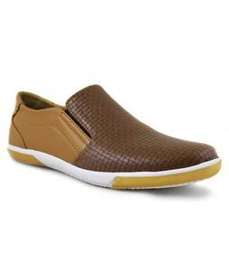 MM Mart Casual Mens Camel & Chocolate Brown Sneaker