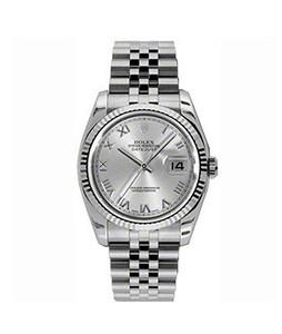 Rolex Datejust 36 Mens Watch Silver (116234-SLVRFJ)
