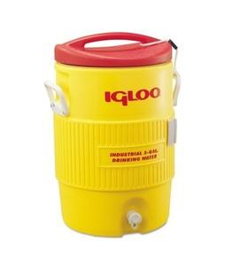 Igloo 400 Series 5 Gallon Heavy Duty Water Cooler Yellow (00451)