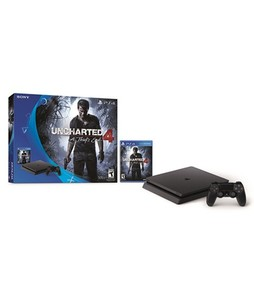 Sony PlayStation 4 Slim 500GB Console - Uncharted 4 Bundle