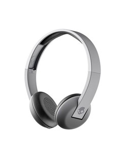 Skullcandy Uproar Wireless Bluetooth On-Ear Headphones Street/Gray Fade/Heather (S5URW-K609)