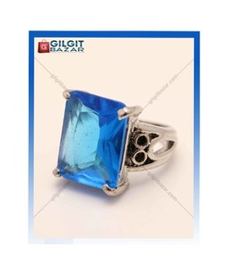 Gilgit Bazar Topaz Stone Ring For Women (GB1191)