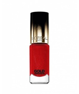 LOreal Paris Color Riche Nail Polish (CP40 Rouge Gold)