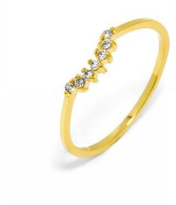 Baublebar Tiara Midi Gold Ring