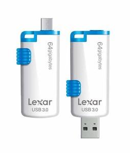 Lexar 64GB JumpDrive USB 3.0 Flash Drive (M20)