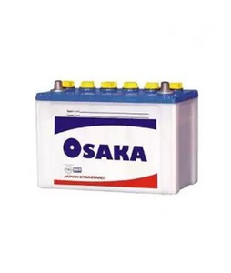 Osaka 11 Plates Acid Battery - White (S65+)