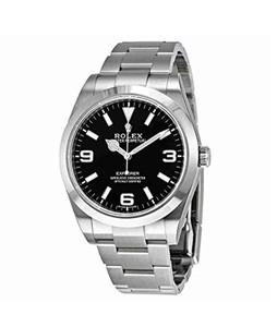Rolex Explorer Automatic Mens Watch Steel (214270BKASO)