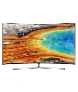 Samsung Premium 55 4K Smart Curved UHD LED TV (55MU9500) - Without Warranty