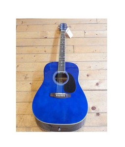 Forbes Store Marconi 41 inch Acoustic Guitar Blue