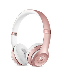 Beats Solo 3 Wireless On-Ear Headphones Rose Gold
