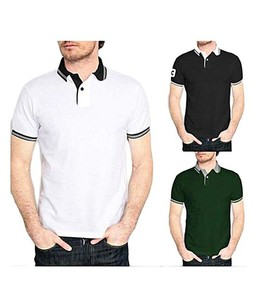 Aybeez Cotton Strip Polo T-Shirts For Men Pack Of 3