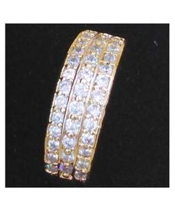 Waks Pk Gold Plated Ring For Women (0348)