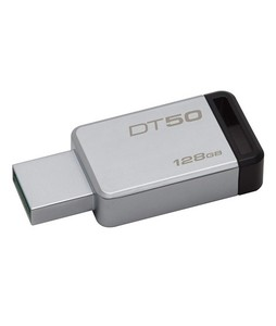Kingston 128GB USB 3.0 Metal Flash Drive (DT50)