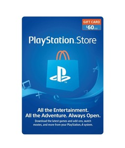 PlayStation Store Gift Card $60 - PS3/PS4/PS4 Pro/PS Vista - Email Delivery