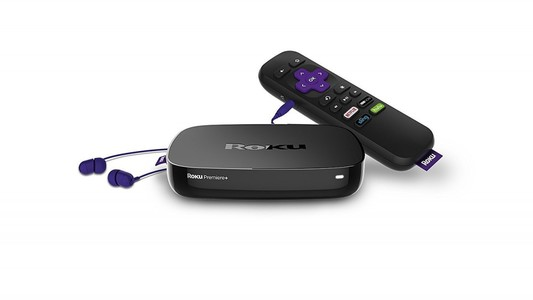 Roku Premiere+ 4K HDR Streaming Media Player