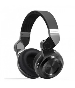 BLUEDIO T2+ Turbine Wireless Bluetooth Over-Ear Headphones With Mic