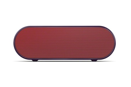Sony Portable Bluetooth Wireless Speaker Red (SRS-X2)