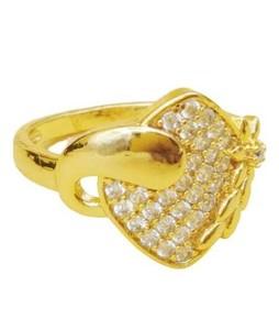 Waks Pk Gold Plated Ring For Women (0364)