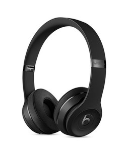 Beats Solo 3 Wireless Bluetooth On-Ear Headphones Matte Black