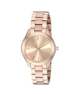 Michael Kors Mini Slim Runway Women's Watch Rose Gold (MK3513)