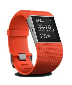 Fitbit Surge Fitness Super Watch Tangerine