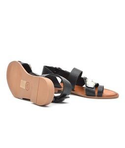 Julke Sparla Flats For Women - Black