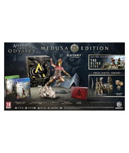Assassins Creed Odyssey Medusa Edition Game For PS4